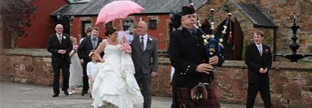 Gretna Green Photographers Pipers Stylists